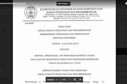 JUKNIS DAN PENGISIAN BLANGKO IJAZAH SEKOLAH DASAR DAN PENDIDIKAN MENENGAH TAHUN PELAJARAN 2017/2018