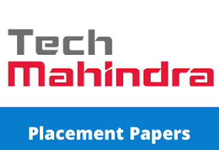 Tech Mahindra Placement Papers PDF