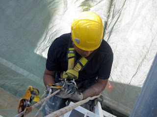 Trabajos verticales: servicios