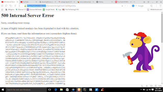Error 500' when they try to access content.