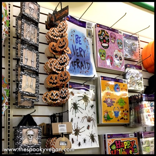 dollar tree pumpkin chair covers acapulco bunnings the spooky vegan halloween 2017 at take a peek what my had in stock below