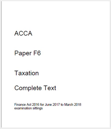 acca f7 study text pdf 2018 free download
