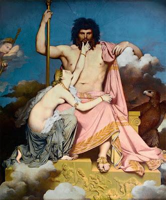 Júpiter y Tetis, Ingres