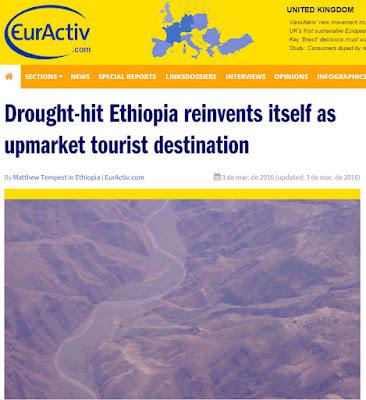 Un país que lucha contra la hambruna con el turismo