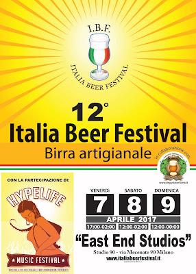 Italia Beer Festival 7-8-9 aprile Milano
