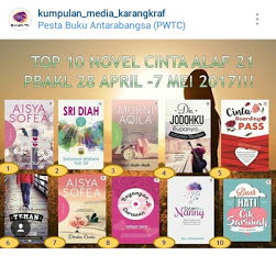 BG in top 10 bestseller pbakl2017