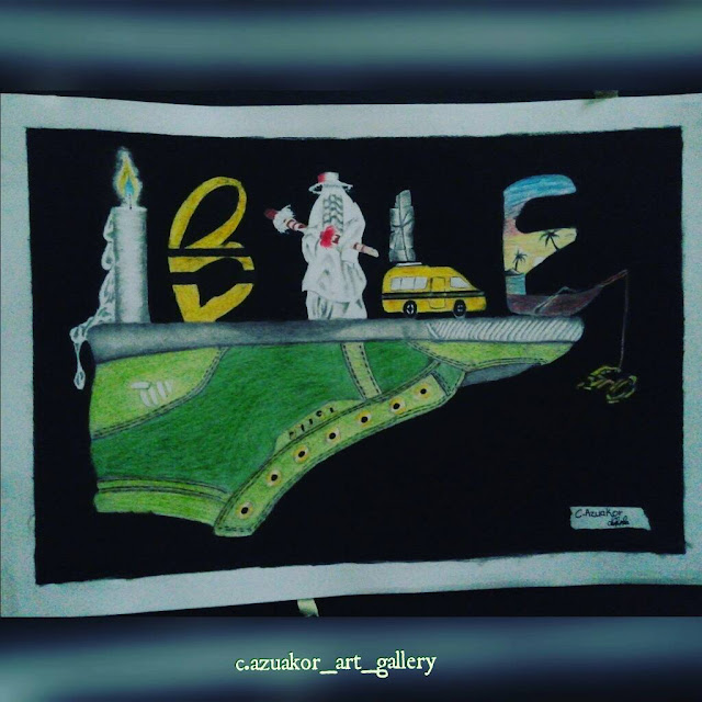 ibile by c.z.azuakor art gallery for lexhansplace