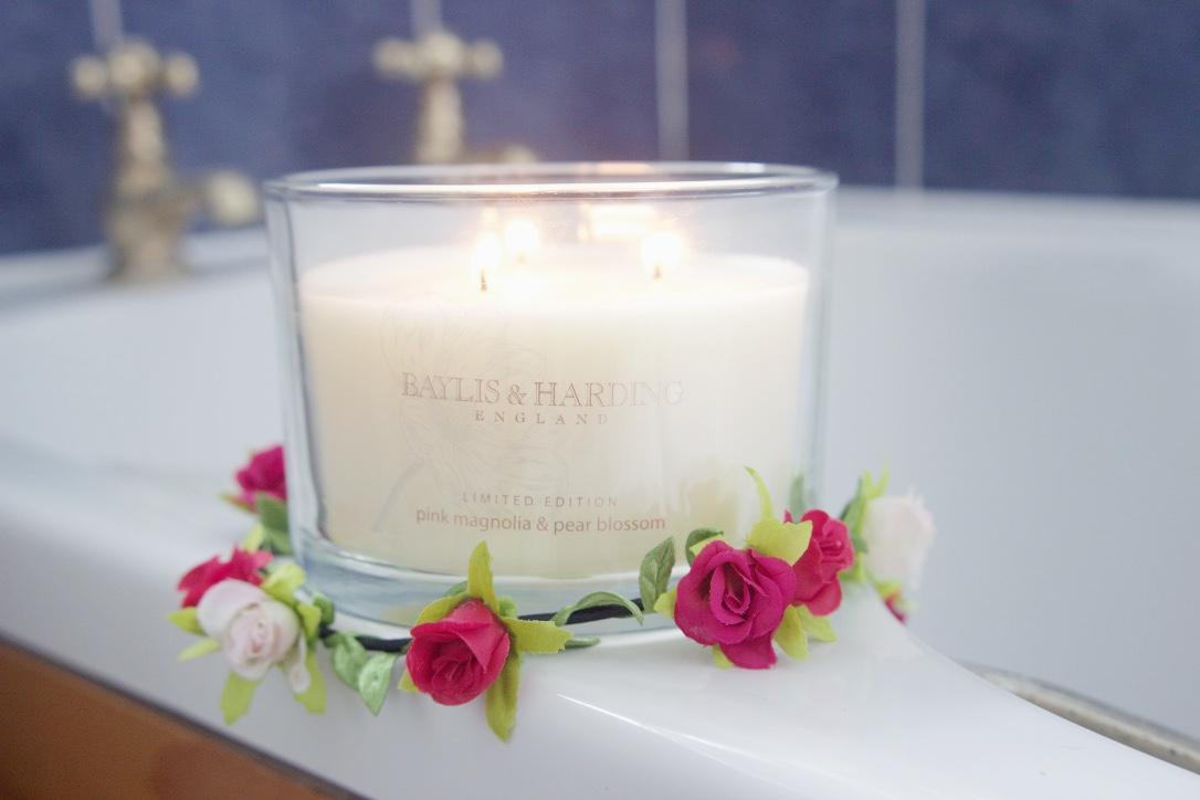 Baylis & Harding Pink Magnolia & Pear Blossom