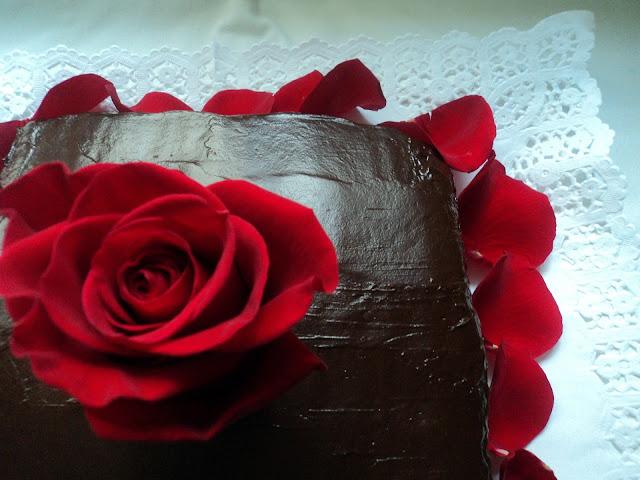 tarta terciopelo rojo colaboración Tartas y Dulces para el Día de la Madre