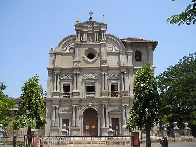 Church at Loutolim, Goa