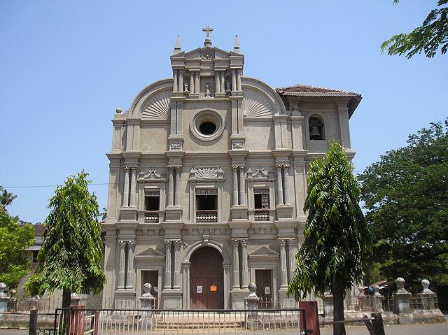 Church at Loutolim, Goa