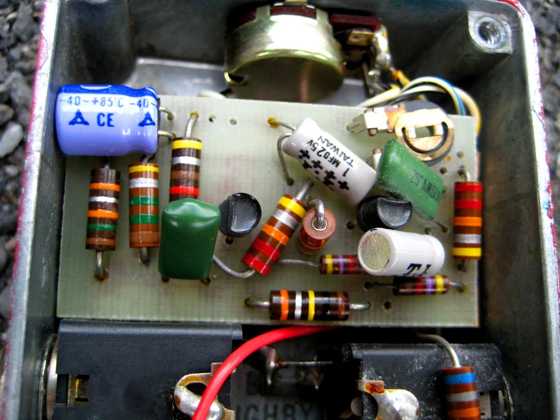 Tone Machines Blog: Sam Ash Fuzz-Stainer (197?)