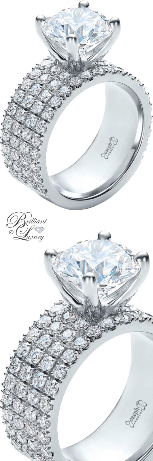 Brilliant Luxury ♦ Custom Diamond Engagement Ring