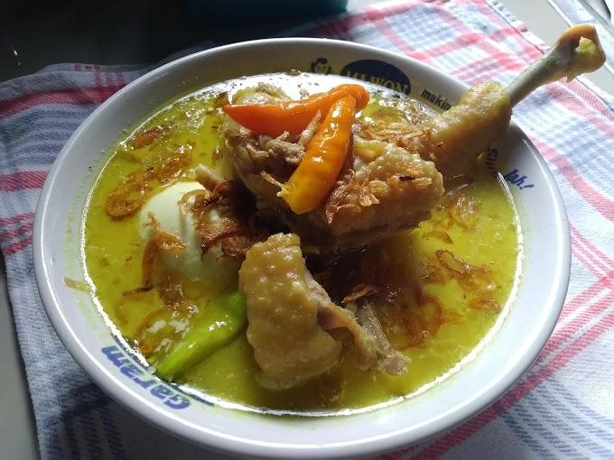 Resep Opor Ayam Kampung Gurih Nikmat