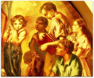 Nossa Senhora e As Crianças, Aldo Locatelli - As Seis Crianças da Direita