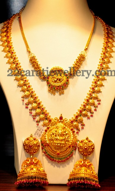 Jos Alukkas Traditional Gold Sets Jewellery Designs