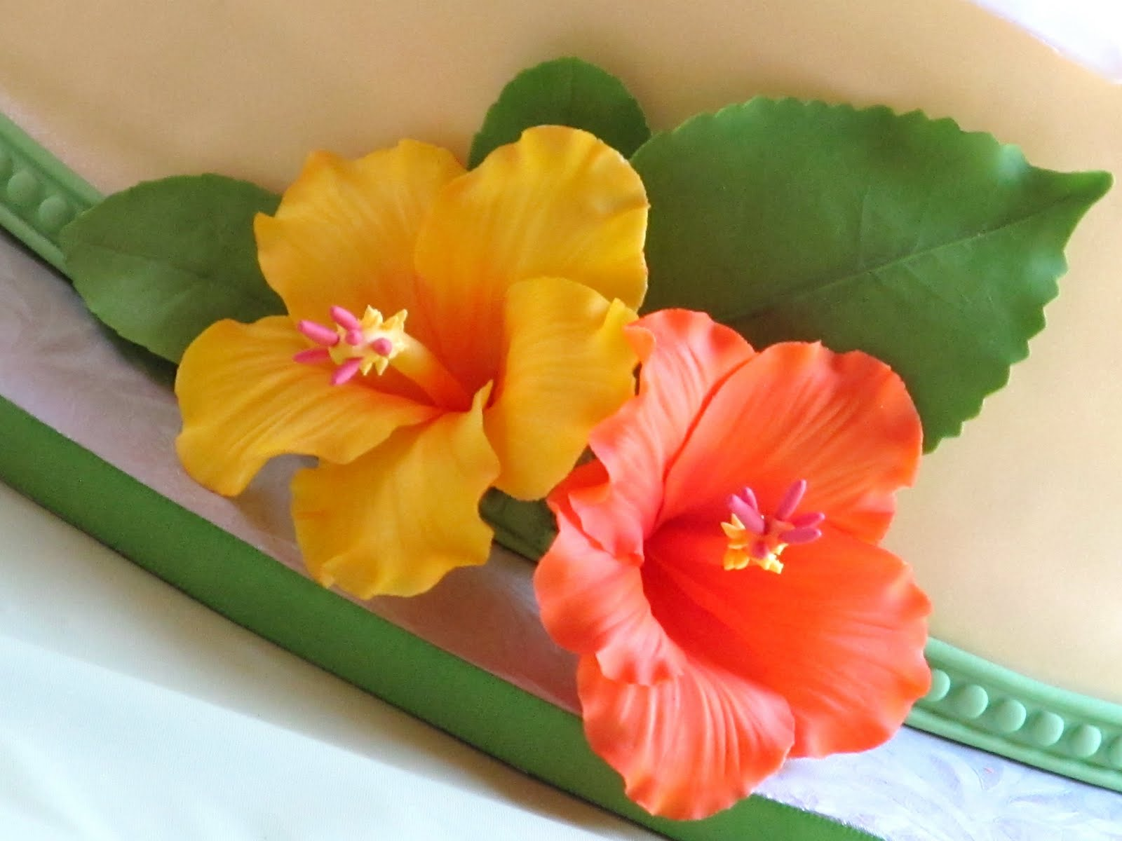 Gumpaste Hibiscus Video Tutorial Renee Conner Cake Design