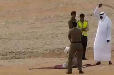 Medieval: Public beheading in Saudi Arabia