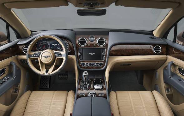 2017 Bentley Bentayga Inside