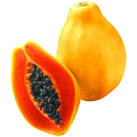 buah betik hilangkan jerawat dagu
