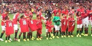 Chevrolet Bawa 2 Bocah Indonesia Jadi Maskot Manchester United