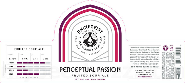 Rhinegeist Working On Tangerine Beams, Kappa Flounder, Perceptual Passion & Zeta Puffer