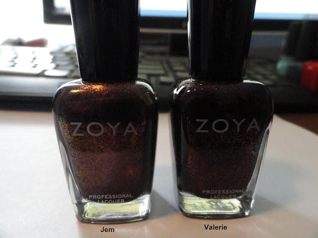 Zoya Valerie Vs Jem Nails Never Fails: Nai...