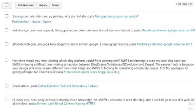 Mencegah dan mengatasi komentar spam2