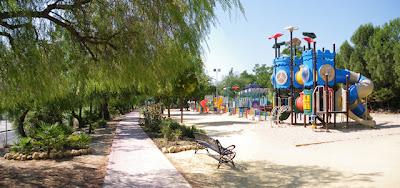 San Juan de Aznalfarache - Parque de los Pitufos 01