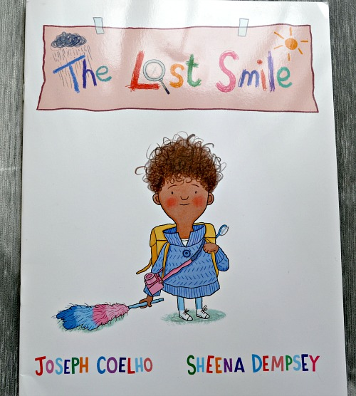 The Lost Smile by Joseph Coelho and Sheena Dempsy. review