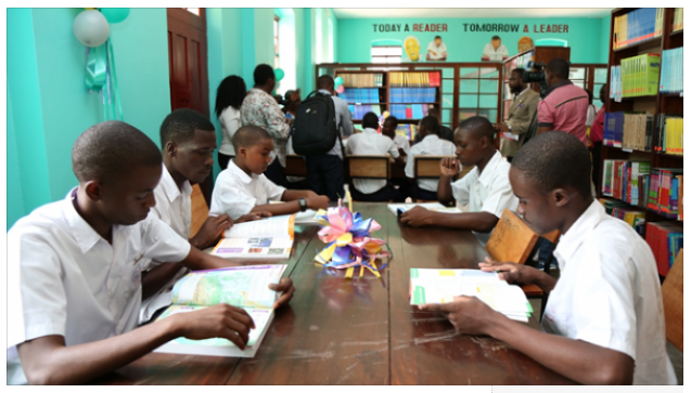Sahara Group renovates library to boost learning in Tanzania