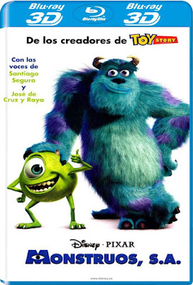 Monsters, Inc. 2001 BD25 2D+3D Latino