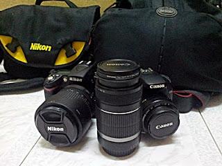 Fotografer Memerlukan Dua DLSR Kamera