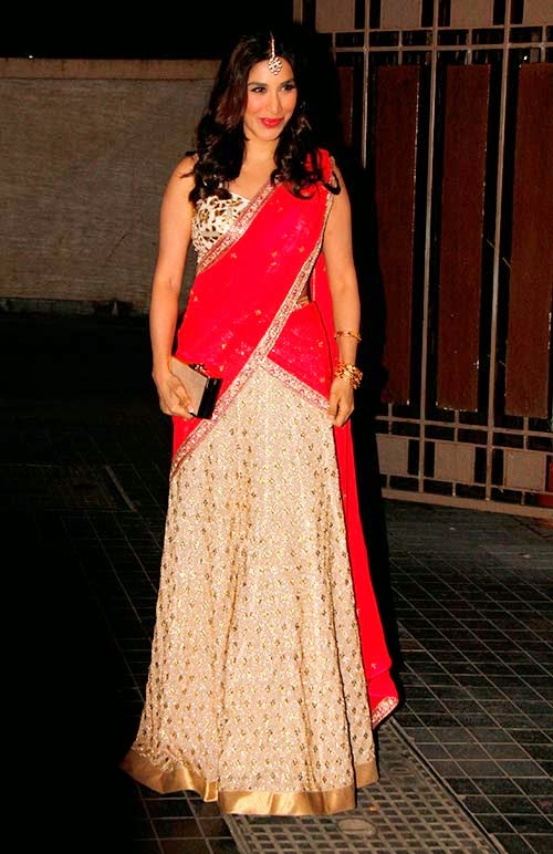 Sophie Chaudry at Soha Ali Khan's Wedding reception