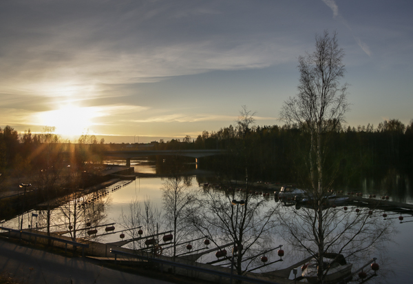 Landscape, Spring, näsijärvi, tampere, nokia, sunset, auringonlasku, satama, harbour, suomi, finland