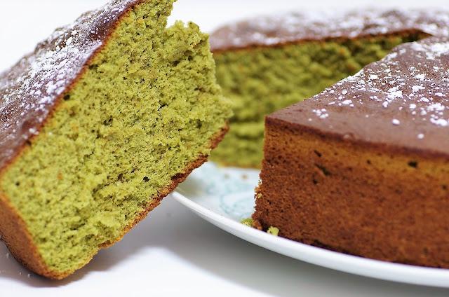 receta bizcocho te verde