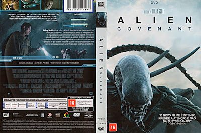 Filme Alien Covenant DVD Capa
