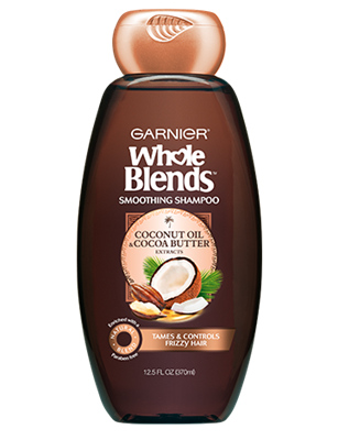 New Garnier Whole Blends Haircare Collection Shampoos