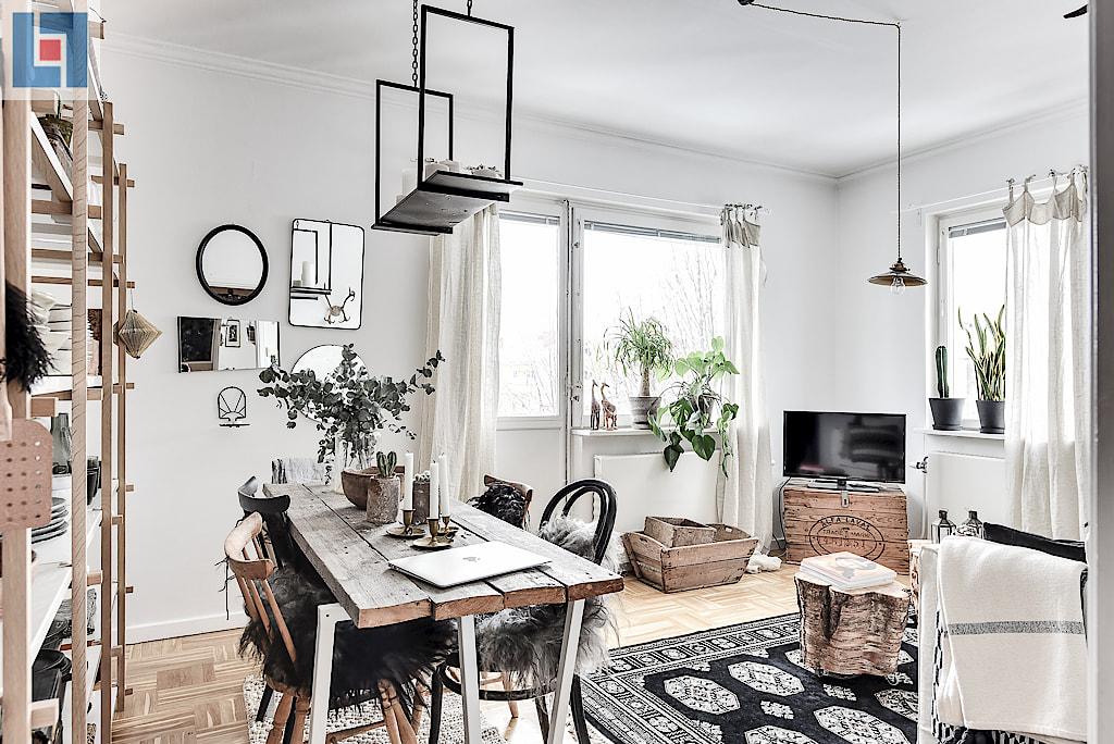 Decordemon Ethnic Style Swedish Apartment - Sleek-and-beautiful-apartment-in-sweden