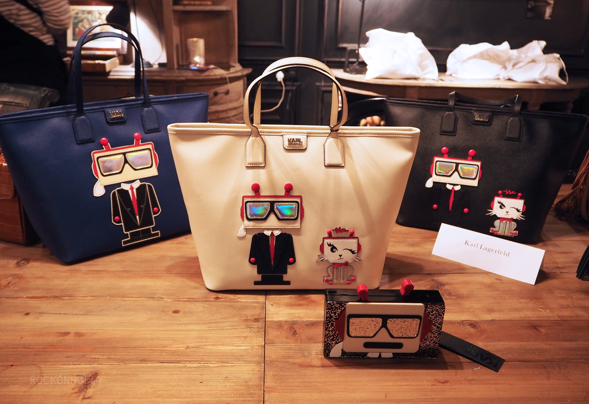 Karl Lagerfeld Bags on the Rock On Holly Blog