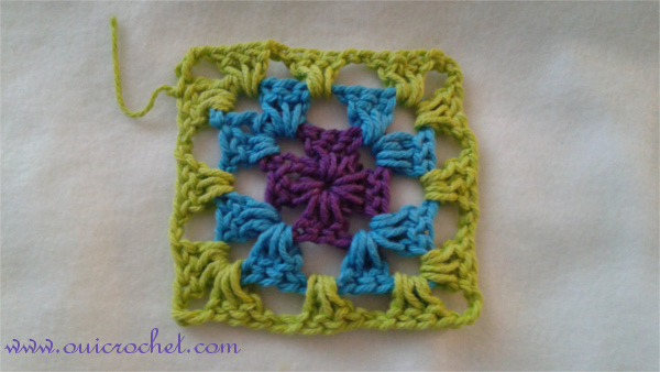 Crochet, Crochet Stitch Tutorial, Crochet Granny Square, Stitch Tutorial, Classic Granny Square, Granny Square, Tutorial, Traditional Granny Square,