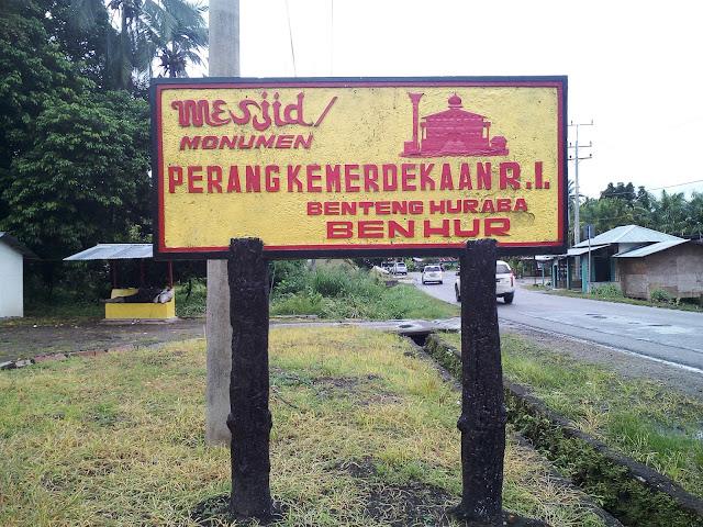 Bentang Huraba, Saksi Sejarah di Tapanuli Selatan