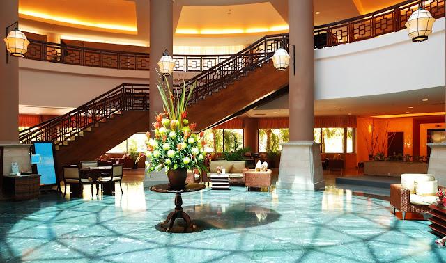 Lobby hotel di Lusso