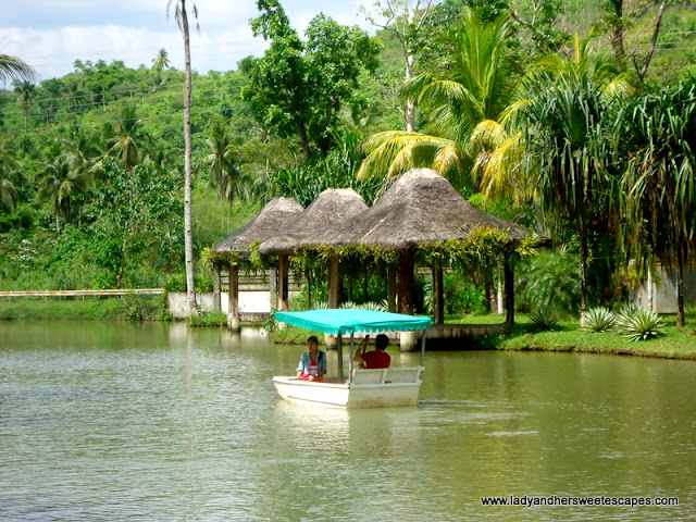boating at Rafael's Farm Leyte