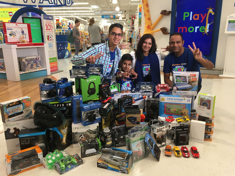 Toys From Africa : Nickalive!: christmas comes early for durban 11 year old ayush