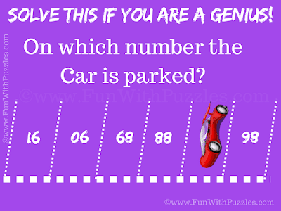 This Mind Parking Puzzle is for Genius People who can think out of box