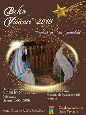 Cumbres de San Bartolomé - Belén Viviente 2018