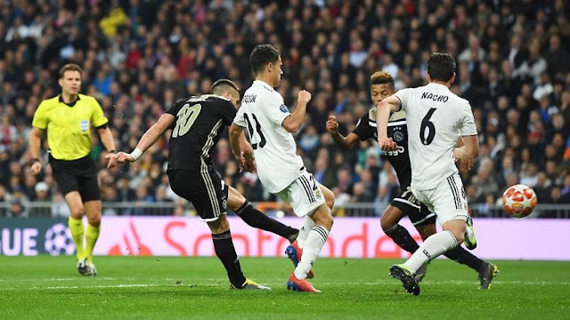 Hasil Liga Champions: Permalukan Madrid di Bernabeu, Ajax ke Perempatfinal