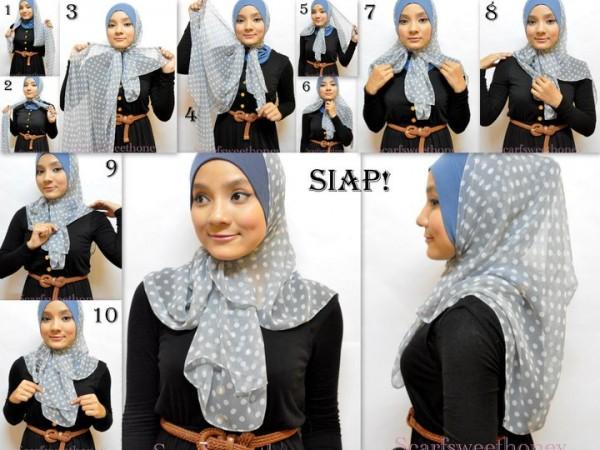 Hijab Bertopi 3