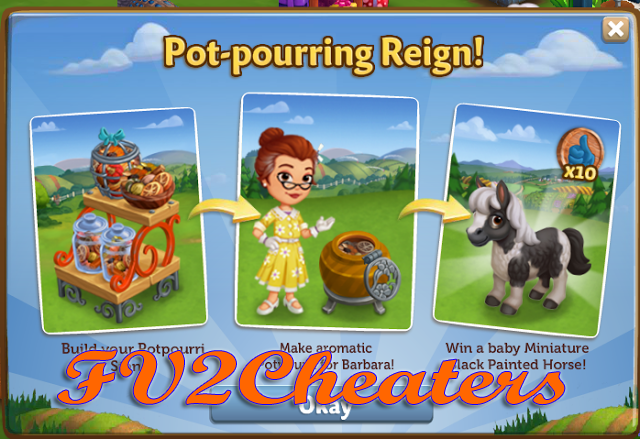 Farmville 2 Cheaters: Farmville 2 Cheat Code For Potpourri Stand